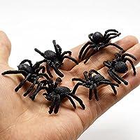 Oyfel Halloween Décoration Araignée Noire