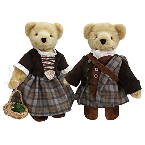 North American Bear Outlander Claire Fraser//The Wedding Teddy Bear Collection