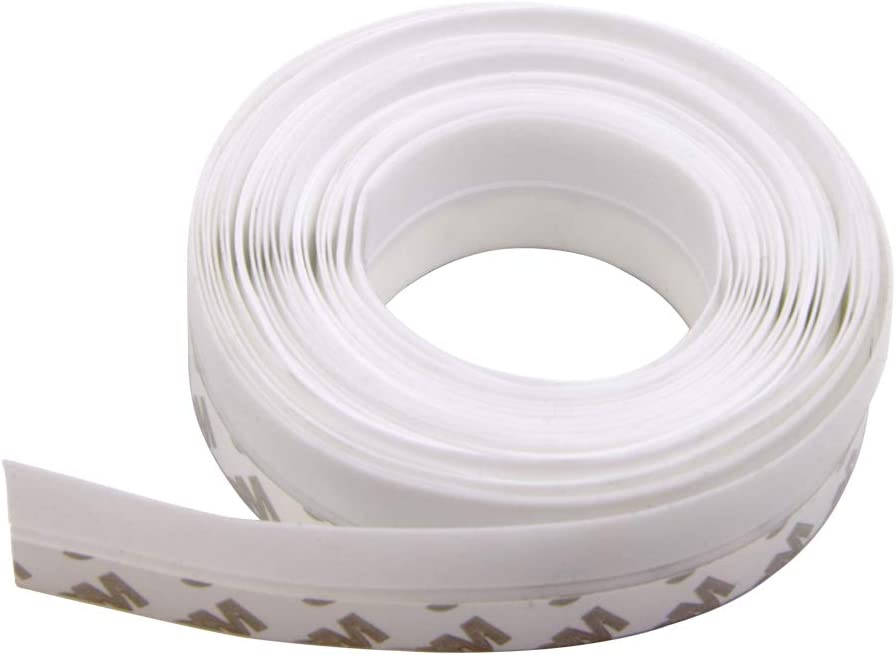 LAVAED 20 Feet Weather Stripping Door Seal Strip,Silicone House and Glass Shower Door Bottom Seal