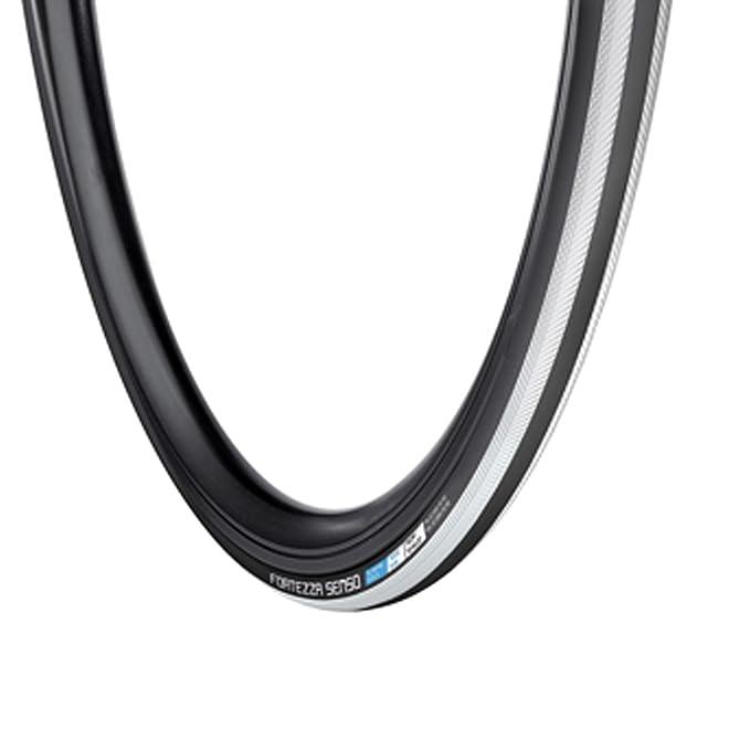 Fietsen en wielersport 2 Pack Vredestein Fortezza Senso All Weather Superlite 700x23 Black/White Tire