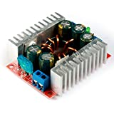 GEREE Mini Buck Voltage Converter DC to DC Step-down Transformer High Power 15A Volt Regulator Board Synchronous Inverter Module 4-30V to 1.2V-29V with Screw Adjustable