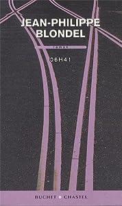 vignette de '06h41 (Jean-Philippe Blondel)'