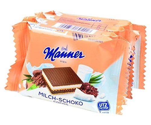 - Biscotti Wafers al Cocco Manner pz.4x25g