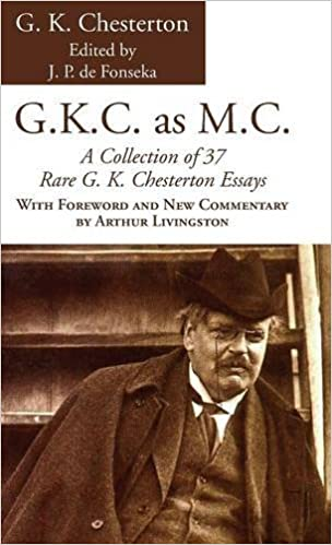 g k c as m c g k chesterton amazon com books
