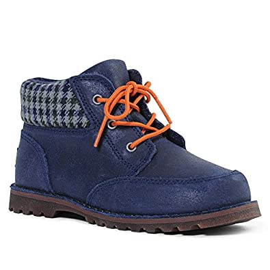 Ugg Orin Boys Chukka Boot In Navy