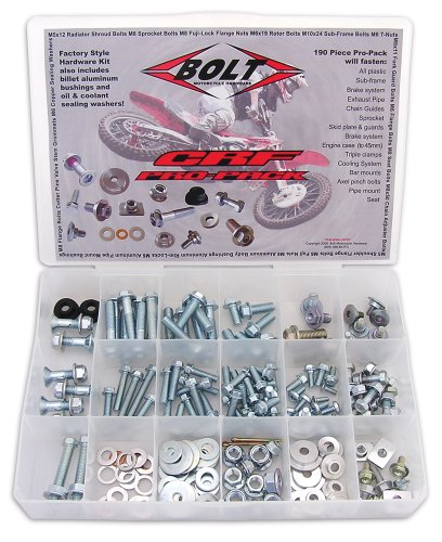 Bolt Motorcycle Hardware (2008-CRFPP) Pro Bolt Pack