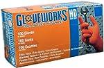 Ammex GWON Gloveworks Orange Nitrile...