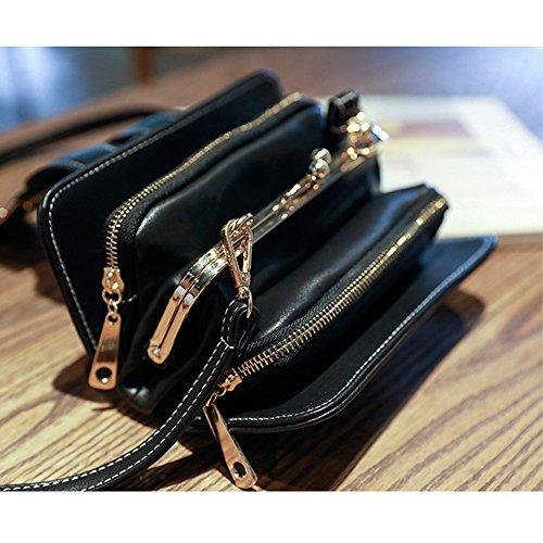 Bag Piccola A GKPLY Tracolla Black Green Messenger Donna Bag Scrub Retrò Moda Messenger 2018 Casual Borse Borse Festa A5Zq5