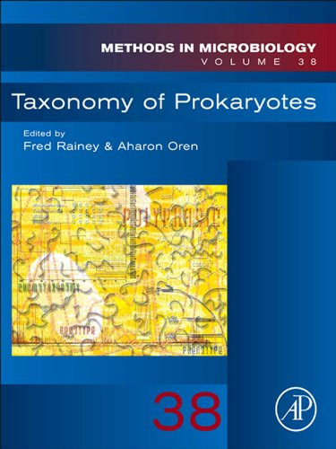 Taxonomy of Prokaryotes (Methods in Microbiology Book 38) ()