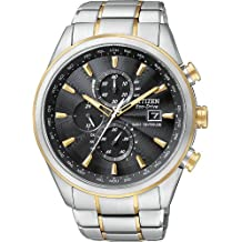 Citizen #AT8014-57E Men's Eco Drive Stainless Steel Atomic Radio Controlled Chronograph Watch