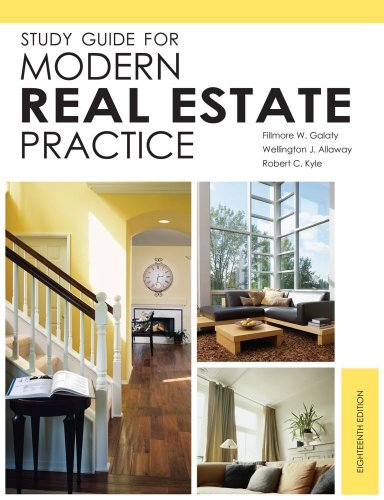 Study Guide for Modern Real Estate Practice, 18th Edition