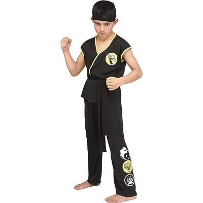 Kids Karate GI Dojo Uniform Costume: Clothing