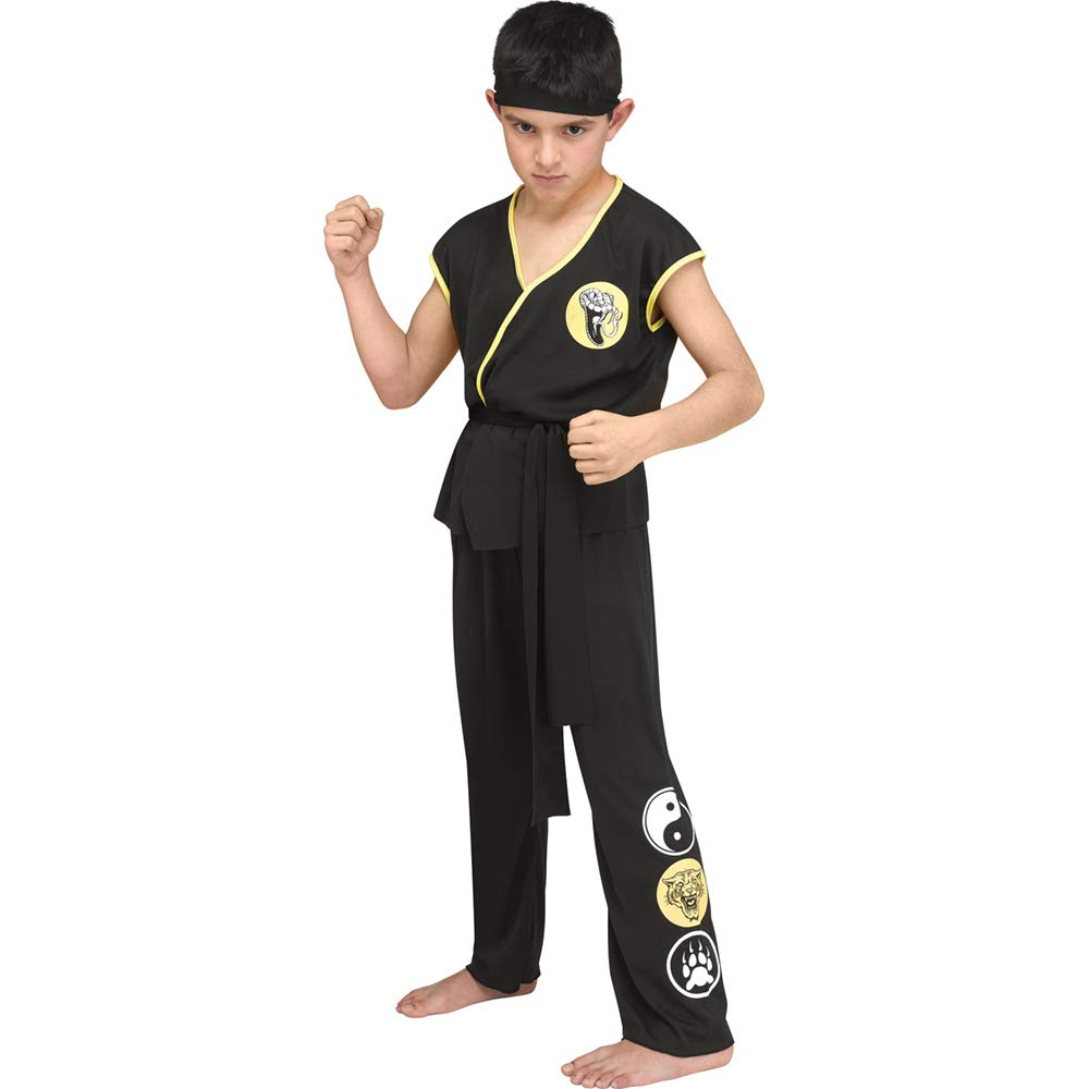 Kids Karate GI Dojo Uniform Costume