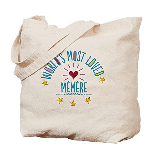 CafePress–más querido del mundo Memere–Gamuza de bolsa de lona bolsa, bolsa de la compra