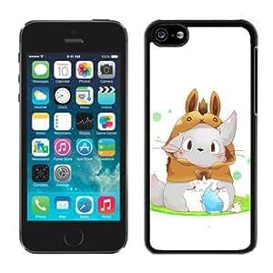 Fashion Designed My Neighbor Totoro 11 Black iPhone 5C Phone Case