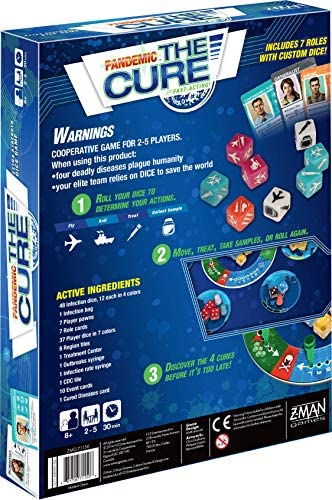 Z-Man Games Pandemic: The Cure: Amazon.es: Juguetes y juegos