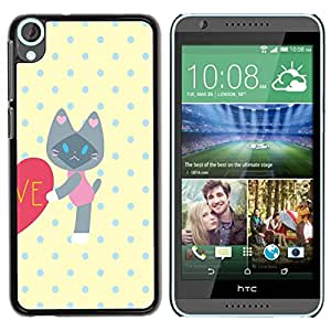 Dragon Case - FOR HTC Desire 820 - there is just one you - Caja protectora de pl??stico duro de la cubierta Dise?¡Ào Slim Fit