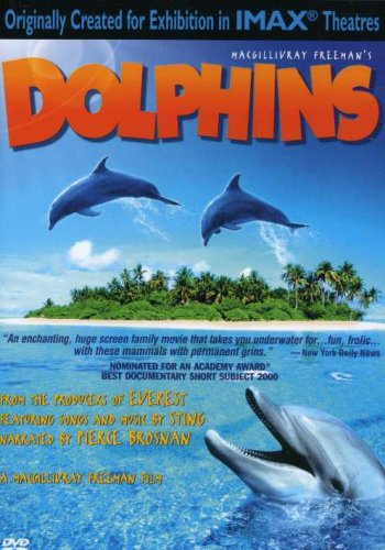 IMAX Dolphins Pierce Brosnan