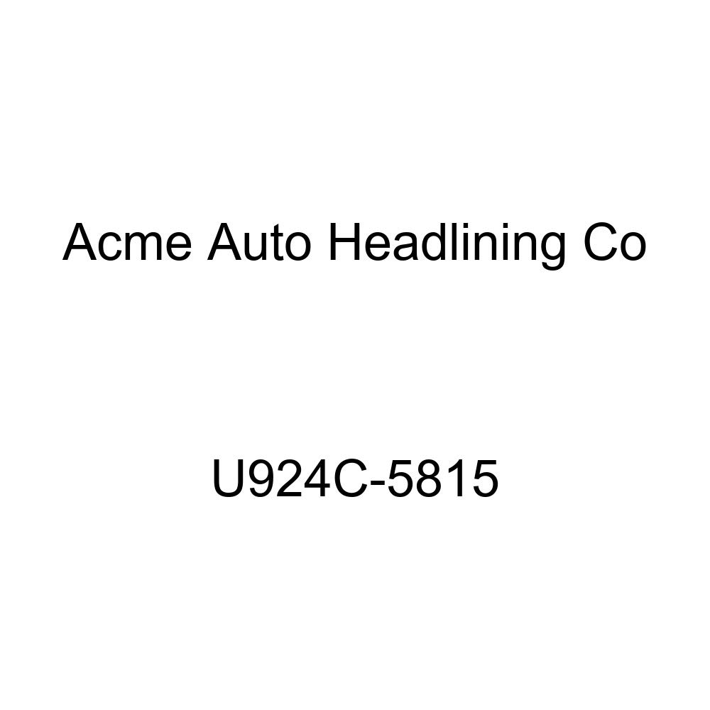 Acme U924C-5815 Front and Rear Dark Charcoal Vinyl Bench Seat Upholstery