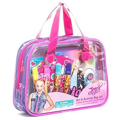 JoJo Siwa Art & Activity Bag Set: Toys & Games