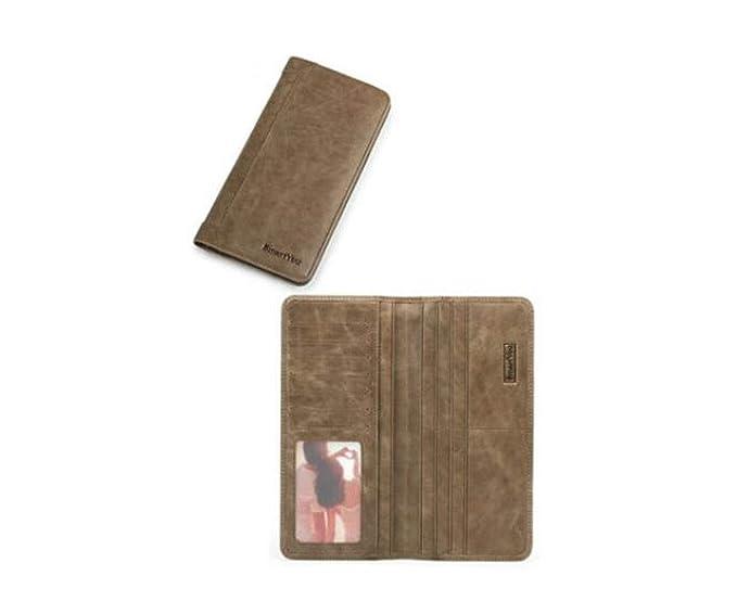 b45064923 Kalmar RFID Travel Billetera, adecuada para hombres, sección larga, moda  casual para el