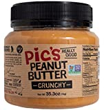 Picot Productions - Pic's Crunchy Peanut Butter, 2.2 Pounds