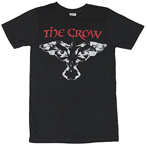 Win-Tshirts Classic Crow Face Logo Image T-Shirts (Black Crow Clothing)