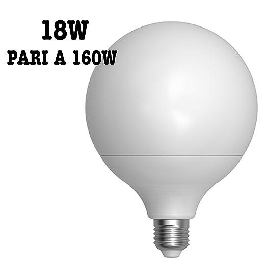 Bombilla LED de 18 W=160 W, E27, 1600 Lúmenes,