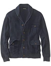 Men's Hawker Twill Cardigan Sweater