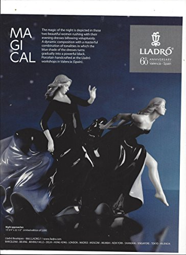 Pack 2013 Approach (MAGAZINE ADVERTISEMENT For Lladro 60th 2013 Anniversary Night Approaches)