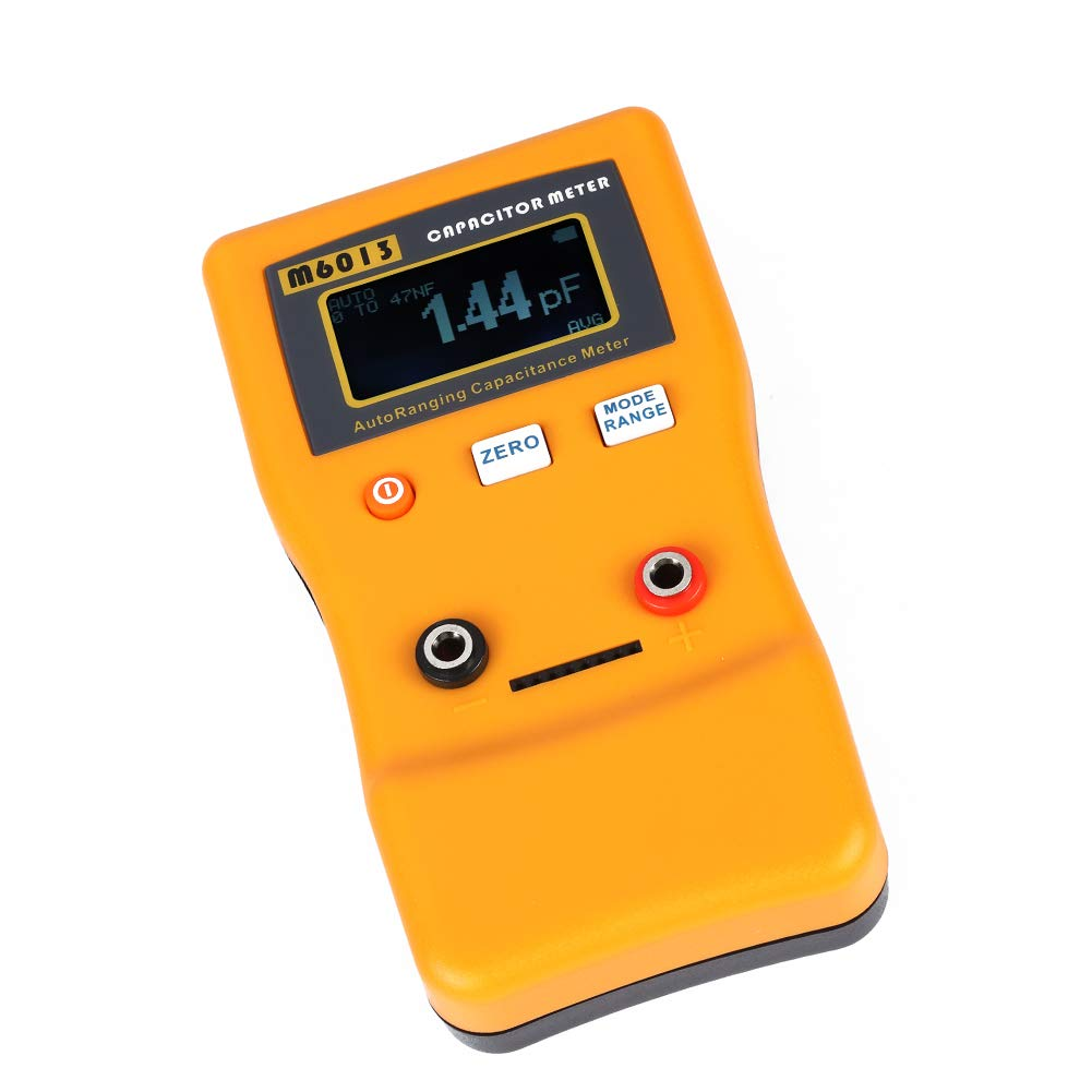 M6013 LCD Circuit Tester Professional Measuring Capacitance Resistance Suitable for DIY User and Professional Engineer Usage Capacitance Meter