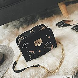 Sunfei Fashion Women Handbag Shoulder Bag Messenger Large Tote Leather Ladies Purse