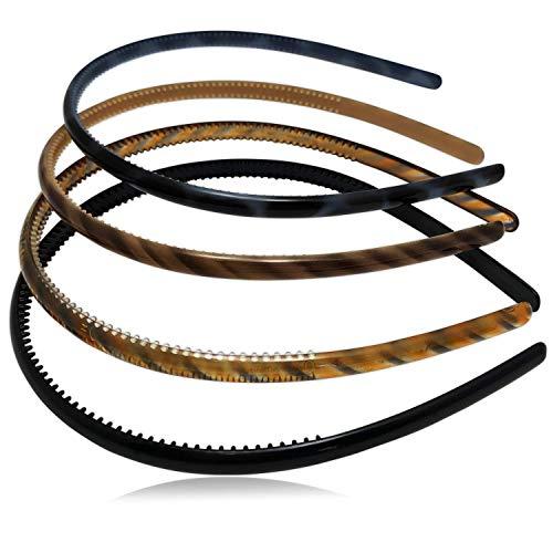 Scunci Effortless Beauty Headbands (Pack of 2) (Effortless Scunci Headbands)