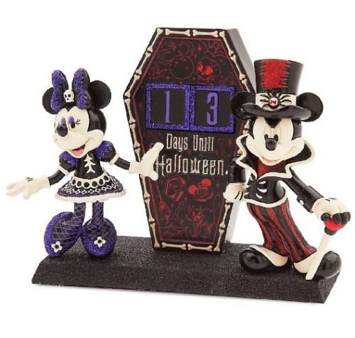 Disney Parks Mickey & Minnie Figure Halloween Dress Up Countdown ()