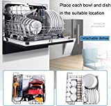 WEIFLY Automatic Dishwasher w/Heated Drying