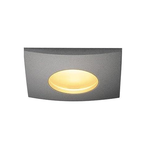 Lámpara LED exterior Out 65 Square Downlight techo ...