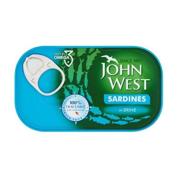 John West Sardines in Brine, 120 g