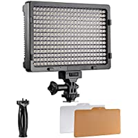 Neewer PT-308S LED 5600K 20W Dimmable On-camera Video Light for Canon,Nikon,Pentax,Panasonic,Sony,Samsung,Olympus and Other Digital SLR Cameras