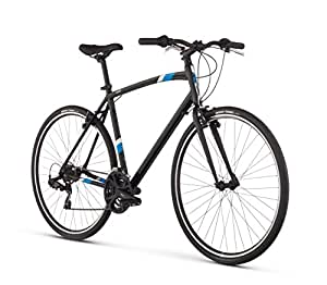 "Raleigh Cadent 1 Urban Fitness Bike, 17"" /MD Frame, Black, 17"" / Medium"