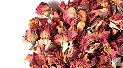 Alive Herbals Premium Food/Culinary Grade A Dried Red Rose Buds And Petals Organic