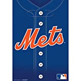 """Sports and Tailgating MLB Party New York Mets Plastic Loot Bags Favours, PLastic, 9"""" x 6"""", Pack of 8"""