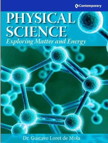 Physical Science: Exploring Matter and Energy - Hardcover Student Text with CD-ROM (SCIENCE SERIES)