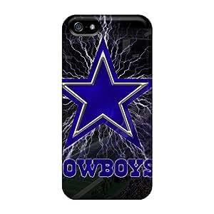 Excellent Design Dallas Cowboys Phone Cases For Iphone 5/5s Premium Tpu Cases
