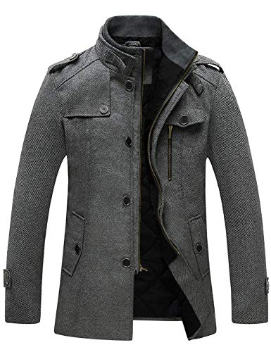 Wantdo Men's Wool Blend