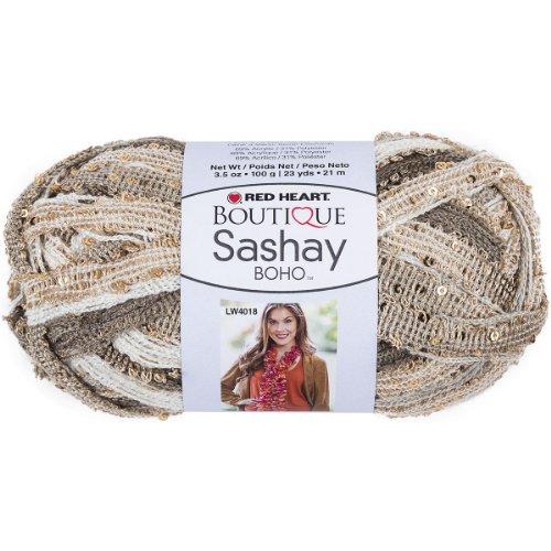 Red Heart Boutique Sashay Boho Yarn-Tambourine by Coats: Yarn