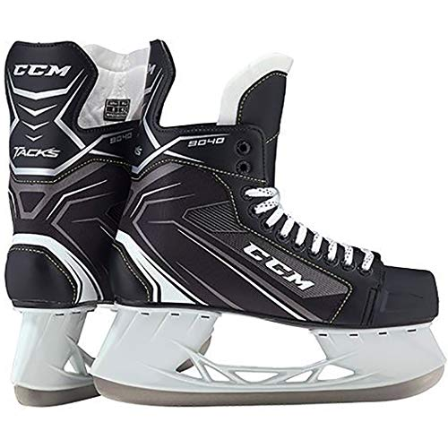 CCM Unisex SK9040 Player Tacks JR Hockey Skate, Junior, Black, 5D