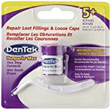 Dentek Temparin Max Lost Filling & Loose Cap Repair, One Step Instant Pain Relief , 5+ Repairs, 0.04 Oz