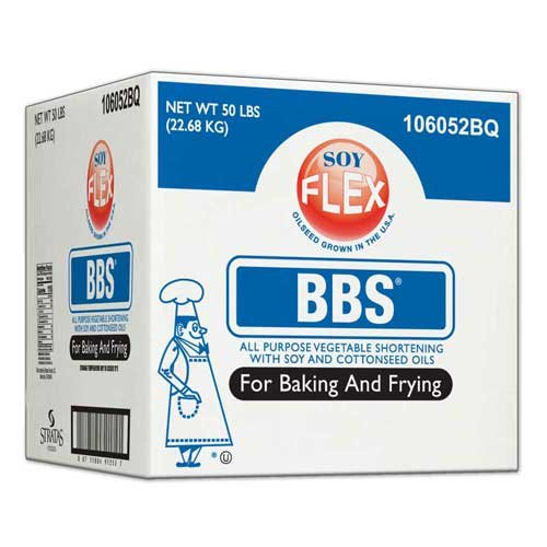 Bbs Soy Flex All Purpose Shortening, 50 Pound -- 1 each. by Stratas Foods