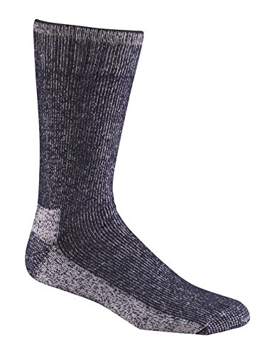 Fox River Outdoor Wick Dry Explorer Cold Weather Socks, NAVY, Large