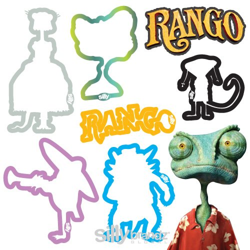 RANGO Silly Bandz 24-Pack...These Are Officially Licensed SILLY BANDZ From the Nickelodeon Movies & Paramount Pictures MOVIE!!!
